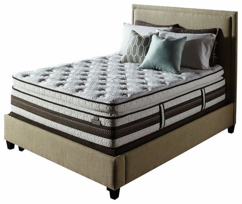 Queen Size Pillow Top Mattress With Free Split Boxspring