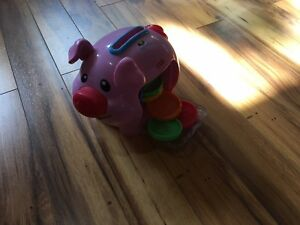 petit cochon Fisher Price