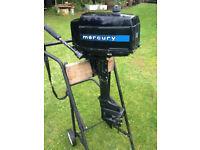 Mercury 4hp Gnat Outboard Parts