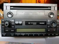 Vw stereo system.
