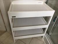 Eastcoast White changing table