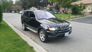 2003 Bmw X5 Sport Package $3500 OBO