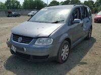 VW TOURAN 2005 1.9 TDI BXE CODE 6 SPEED FULL CAR FOR BREAKING ONLY