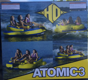 HO Atomic 3 towable waterski tube