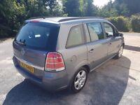 Vauxhall zafira 7 seater mpv people carrier ( not touran, galaxy, espace, grand scenic)