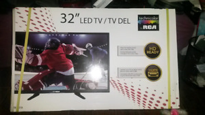 "RCA 32"" LED TV BRAND NEW UNOPENED"