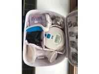 Haberman electric/battery breast pump in carry case
