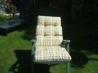 2 Garden Reclining Chairs