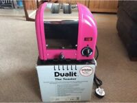 Dualit toaster pink