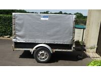 Car Trailer with Terrapin cover 6 ft X 3.5 ft