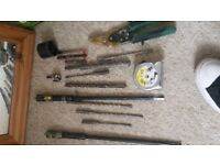 Drill bits metal cutters stanley tools