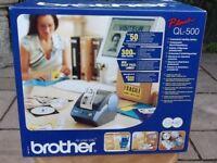 Brother QL-500 thermal Label Printer