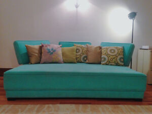 Sofabed with accessories
