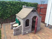 Amazing Step 2 Duo including The Storybook Cottage; and Woodland Climber.