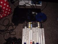 PLAYSTATION 2 WITH GAMES