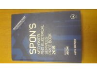 SPON'S MECHANICAL & ELECTRICAL SERVICES PRICE BOOK