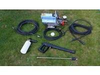 Kranzle k7/122 pressure washer cleaner with extra hose & snow foam lance