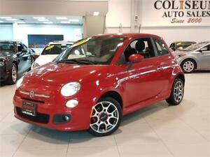 2012 FIAT 500 SPORT-ALLOYS-ONLY 96KM