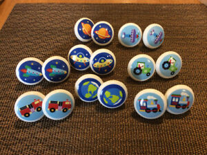 Vintage Drawer Pulls For Child's Furniture