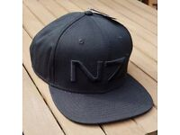 Mass Effect Andromeda N7 Black Baseball Cap Hat BNWT