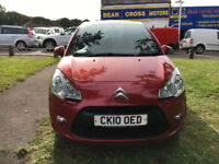 2010 CITROEN C3 VTR+ PLUS RED