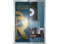 Lumley Reference audio product brochure(s) - Super rare!