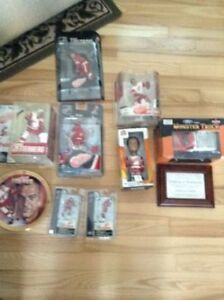Unopened Detroit Red Wings Collectibles Lot - Must See