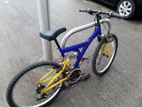 Mountain bike with 18 speeds only 40 £