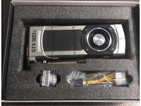 GTX 980ti ZOTAC REF 6GB £280