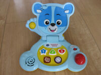 VTECH BABY BEAR LAPTOP in BLUE - IMMACULATE! Great Price see Amazon - NOW REDUCED AGAIN!
