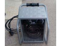 Hyco IFH2000 2000 Watt Industrial Portable Fan Heater