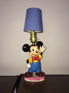 1940's Mickey Mouse lamp