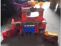 Kids Fire Station Playset