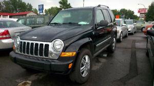 2007 Jeep Liberty Ltd. 4 x 4 Automatique, 147,000 km Cuir 4,295$