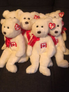 TY MAPLE the BEAR BEANIE BUDDY - MINT with MINT TAGS - 4th Gen