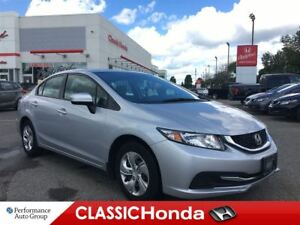 2015 Honda Civic Sedan LX | REAR CAM | BLUETOOTH | ECON | HTD SE