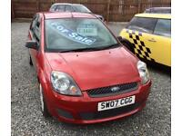 FORD FIESTA 1.25 Style 5dr [Climate] - P/X To Clear - Great Runner & Great Condition (red) 2007