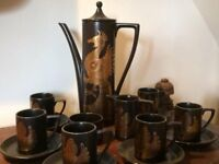 Portmeirion Phoenix coffee set : 1960s classic