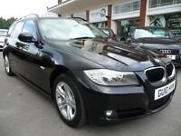 BMW 3 SERIES 2.0 318D ES TOURING 5d 141 BHP (black) 2010