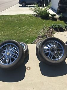 22's Summer rims! Great for trucks that wanna look flashy