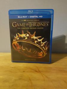 Game of thrones season 2 blu ray