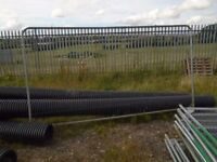 site fencing 25 panel