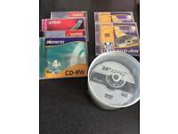 Selection of new CD-RW, DVD-R & RW