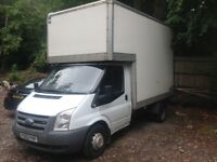 Ford transit Luton diesel tailift 2006/56 mot drives superb