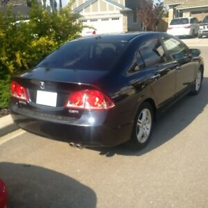 2008 Acura CSX black Coupe (2 door) LOW KM!