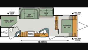 281BH 2018 Connect travel trailer