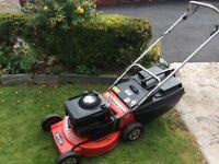 Rover petrol Self drive Lawnmower 21 inch cut. Quantum Power Briggs&Stratton engine. cut adjustment.
