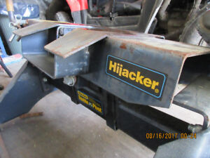 Fifth Wheel Hitch, rails and brackets.