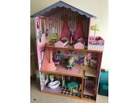 Wooden supersize dolls house