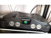 Nintendo 64 for sale with 2 games